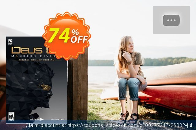 Deus Ex Mankind Divided Digital Deluxe Edition PC discount 79% OFF, 2020 New Year's eve offer