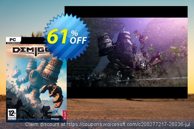 Demigod PC discount 65% OFF, 2020 Thanksgiving Day offering sales