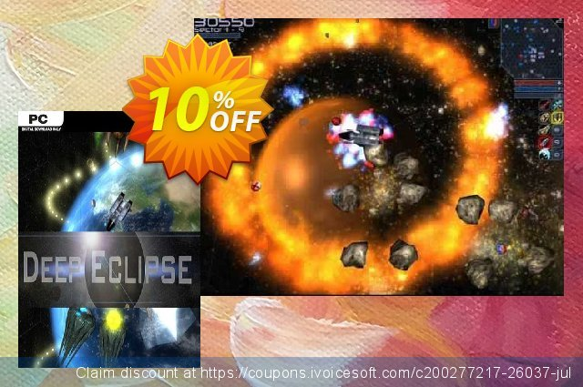 Deep Eclipse New Space Odyssey PC discount 10% OFF, 2020 Black Friday offering deals