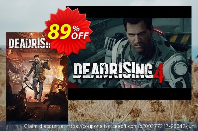 Dead Rising 4 PC discount 80% OFF, 2020 Thanksgiving Day offering sales