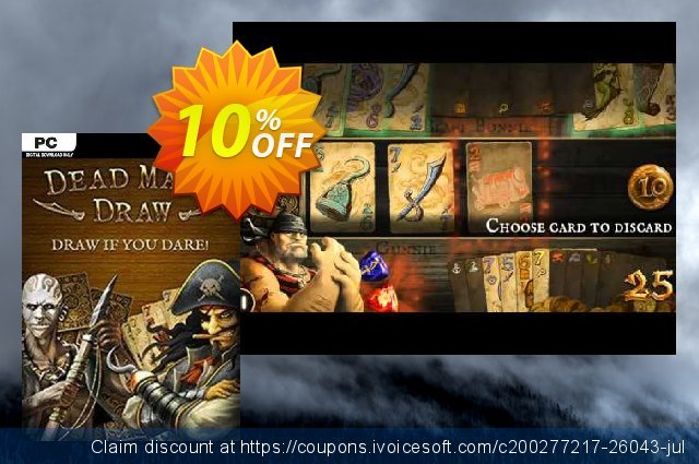 Dead Man's Draw PC discount 10% OFF, 2020 Black Friday offering sales