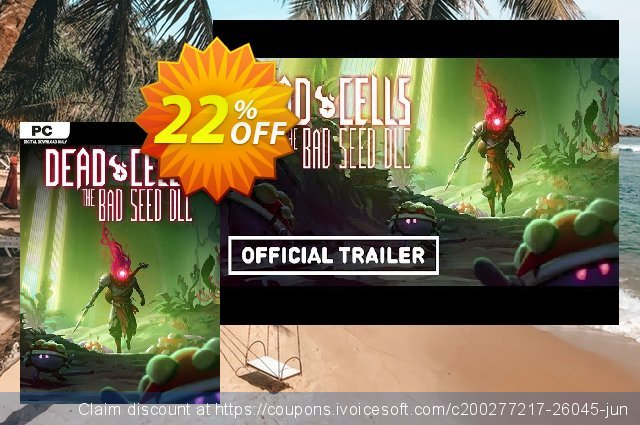 Dead Cells: The Bad Seed DLC discount 22% OFF, 2020 Thanksgiving Day offering sales