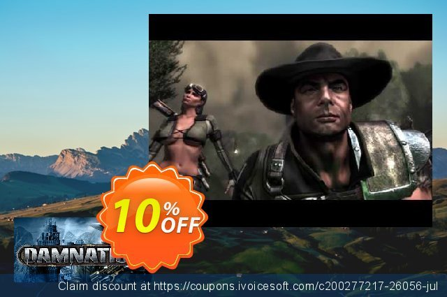 Damnation PC discount 10% OFF, 2020 Thanksgiving offering deals