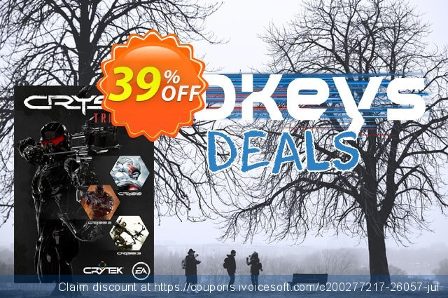 Crysis Trilogy PC discount 64% OFF, 2020 Thanksgiving Day promo sales