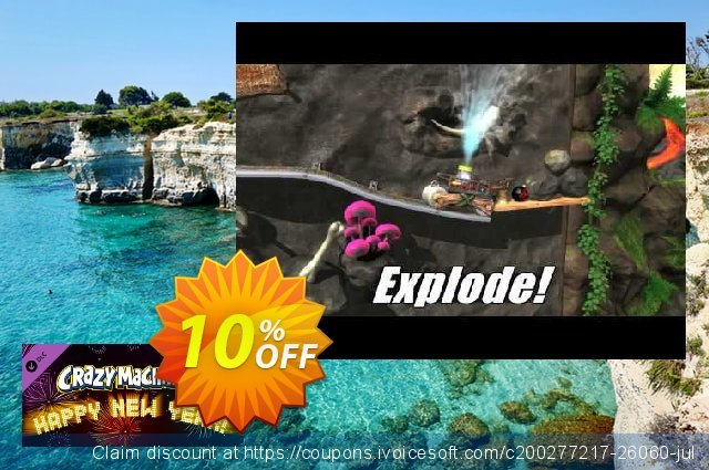 Crazy Machines 2 Happy New Year DLC PC discount 10% OFF, 2020 Thanksgiving Day offering sales