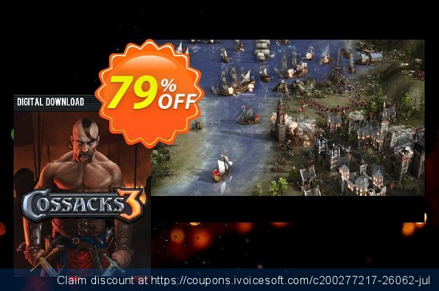 Cossacks 3 PC discount 60% OFF, 2020 Christmas & New Year offering sales