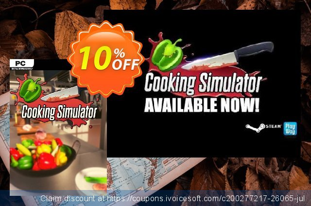 Cooking Simulator PC discount 13% OFF, 2020 Xmas Day offering sales