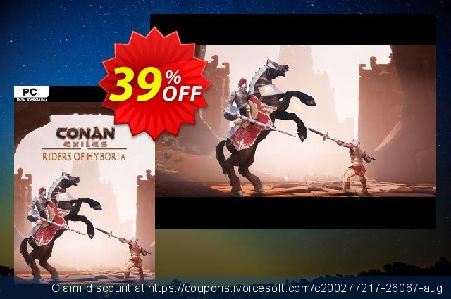 Conan Exiles - Riders of Hyboria Pack DLC discount 30% OFF, 2020 Year-End promotions