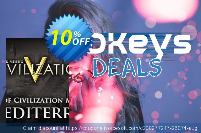 Civilization V Cradle of Civilization Map Pack Mediterranean PC discount 10% OFF, 2020 Thanksgiving offering sales