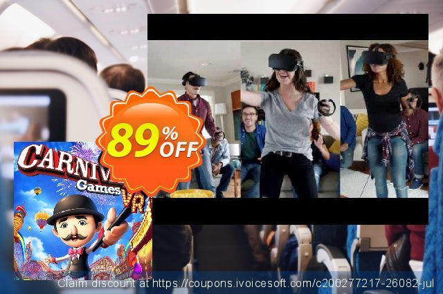 Carnival Games VR PC discount 72% OFF, 2021 Spring discount