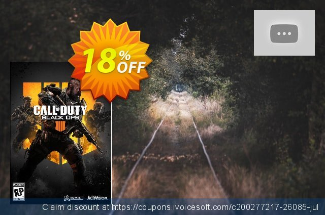 Call of Duty (COD) Black Ops 4 PC (US) discount 22% OFF, 2020 Halloween offering sales