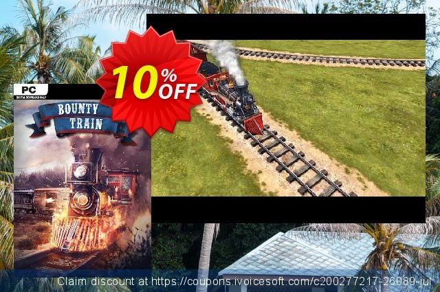 Bounty Train PC discount 10% OFF, 2021 Spring offering sales
