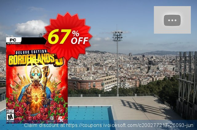 Borderlands 3 Deluxe Edition PC + DLC (EU) discount 53% OFF, 2020 Back to School offer discount