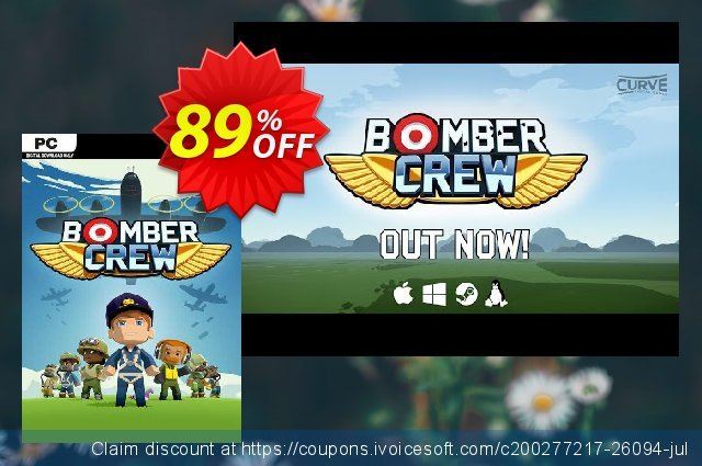 Bomber Crew PC discount 95% OFF, 2020 Black Friday offering deals