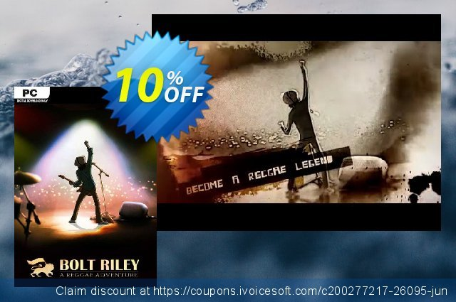 Bolt Riley A Reggae Adventure PC discount 10% OFF, 2020 Thanksgiving promo sales