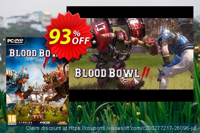 Blood Bowl 2 PC discount 84% OFF, 2020 Thanksgiving Day promo
