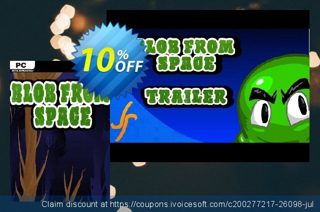 Blob From Space PC discount 10% OFF, 2020 Thanksgiving offering sales