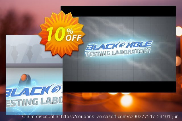 BLACKHOLE Testing Laboratory PC discount 10% OFF, 2020 Thanksgiving offering sales