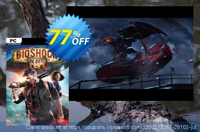 BioShock Infinite (PC) discount 76% OFF, 2020 Black Friday offering sales