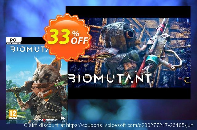 Biomutant PC discount 33% OFF, 2020 Thanksgiving Day discounts