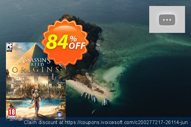 Assassin's Creed: Origins PC discount 60% OFF, 2020 Thanksgiving Day promo sales