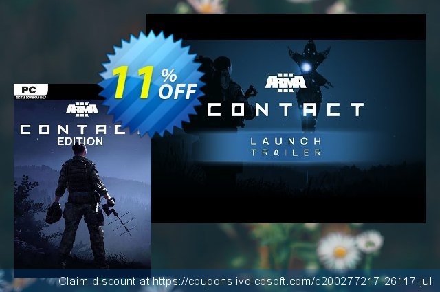 Arma 3 Contact Edition PC discount 30% OFF, 2020 Thanksgiving Day offering sales