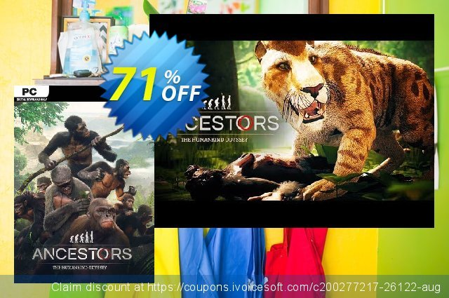 Ancestors - The Humankind Odyssey PC (EU) discount 58% OFF, 2020 Thanksgiving offering sales