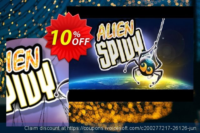 Alien Spidy PC discount 10% OFF, 2020 New Year's Day deals