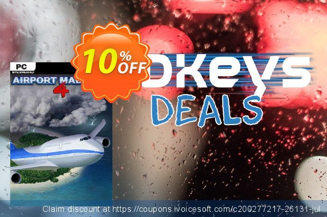 Airport Madness 4 PC discount 10% OFF, 2020 Halloween offering discount
