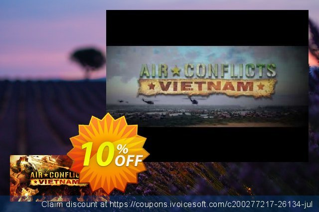 Air Conflicts Vietnam PC discount 10% OFF, 2020 Thanksgiving promo