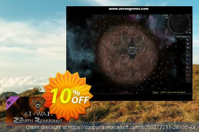AI War The Zenith Remnant PC discount 10% OFF, 2020 Thanksgiving Day offering sales