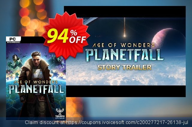 Age of Wonders Planetfall PC + DLC discount 60% OFF, 2020 Exclusive Student deals offering sales