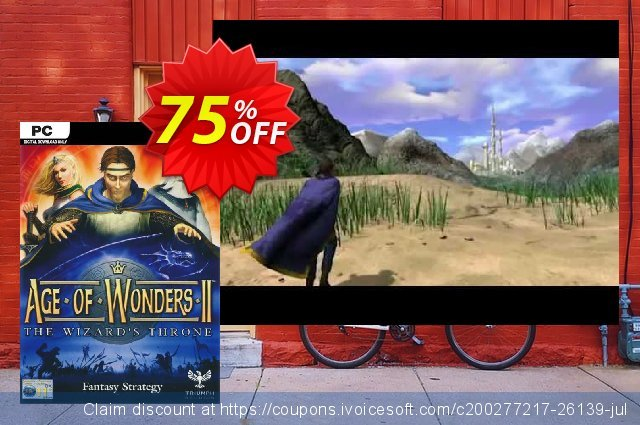 Age of Wonders II 2: The Wizards Throne PC discount 89% OFF, 2020 Year-End offering sales