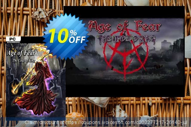 Age of Fear The Undead King PC discount 10% OFF, 2020 Thanksgiving offering sales