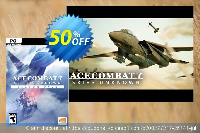 Ace Combat 7: Skies Unknown - Season Pass PC 惊人的 促销 软件截图