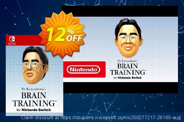 Dr Kawashima's Brain Training Switch discount 22% OFF, 2020 Black Friday offering sales