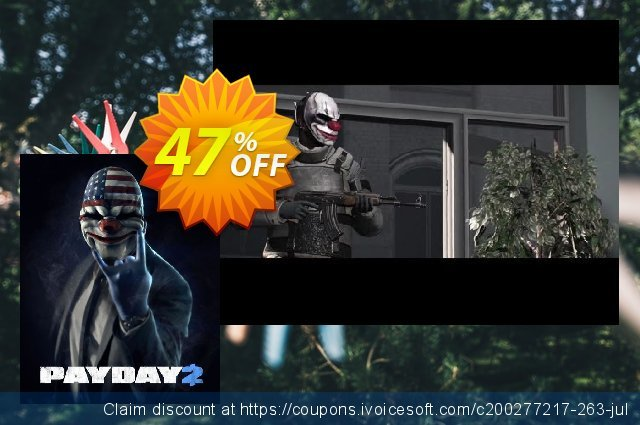 Payday 2 PC discount 69% OFF, 2021 Mother's Day discounts. Payday 2 PC Deal