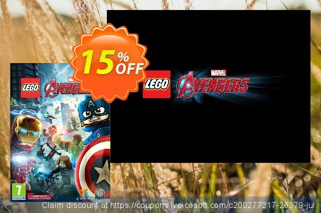 LEGO Avengers PC discount 10% OFF, 2021 Happy New Year offering sales