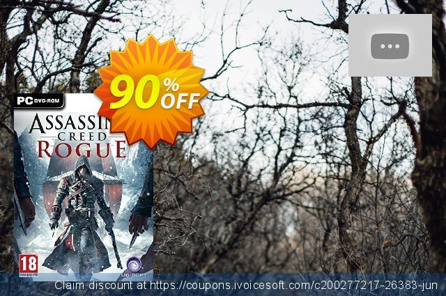 Assassin's Creed Rogue PC discount 88% OFF, 2021 Mother's Day offering discount. Assassin's Creed Rogue PC Deal