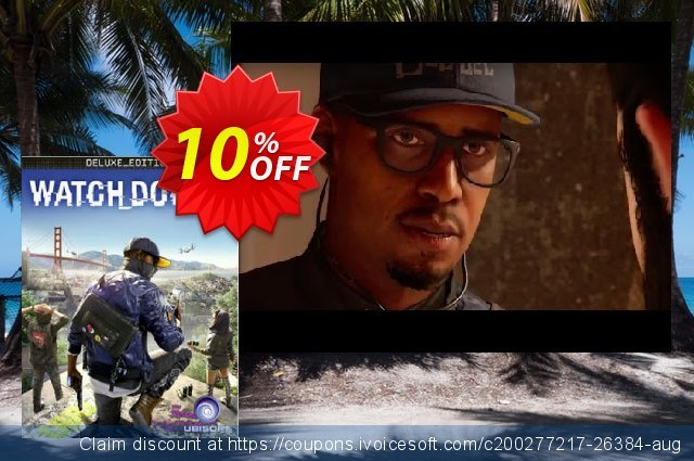 Watch Dogs 2 Deluxe Edition PC discount 10% OFF, 2021 New Year deals