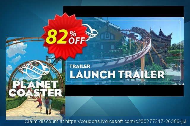 Planet Coaster PC discount 23% OFF, 2021 Happy New Year discount