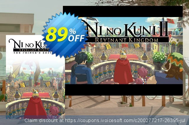 Ni No Kuni II Revenant Kingdom - Princes Edition PC discount 73% OFF, 2021 Happy New Year offering sales