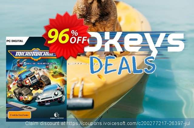 Micro Machines World Series PC discount 80% OFF, 2021 Spring offering sales