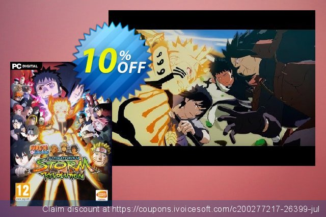 Naruto Shippuden: Ultimate Ninja Storm Revolution PC discount 10% OFF, 2020 College Student deals offering sales