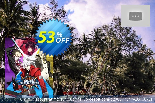 BlazBlue: Cross Tag Battle PC discount 71% OFF, 2021 Happy New Year discounts