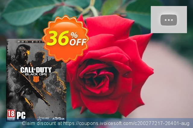 Call of Duty (COD) Black Ops 4 Pro Edition PC discount 36% OFF, 2021 January promotions