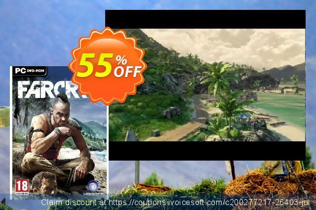 Far Cry 3 (PC) discount 10% OFF, 2021 New Year's Weekend deals