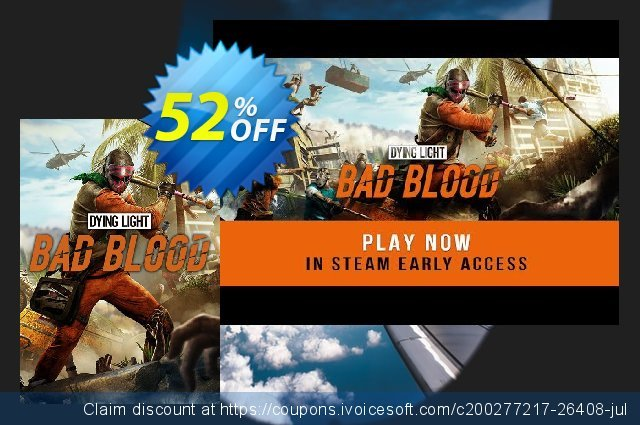 Dying Light: Bad Blood Founders Pack PC discount 36% OFF, 2021 January offering deals