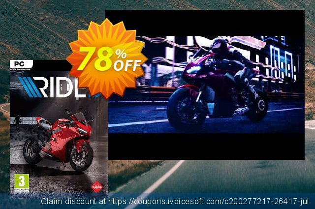 Ride 3 PC discount 62% OFF, 2021 New Year's Weekend offering sales