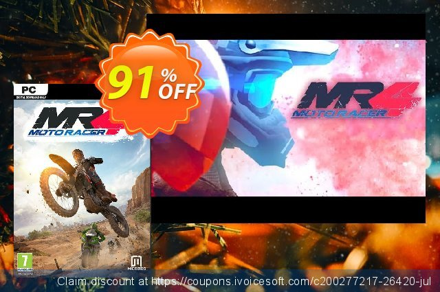 Moto Racer 4 PC discount 10% OFF, 2021 New Year's Day promotions
